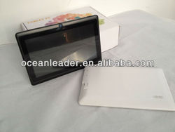 Best Mini 7 inch Allwinner A13 Q88 Pad Android 4.0. Cheap Tablet PC