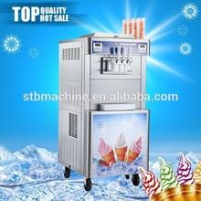 Professionale servire yogurt gelato macchina per il gelato, macchina per il ghiaccio frutta crema