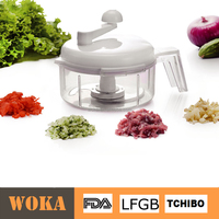 Kitchen Gadget Manual Quick Chopper Swift Chopper Plastic Mixer