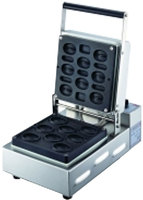 Commercial Food Equipment Coffee Bean Shaped Muffin Waffle Maker