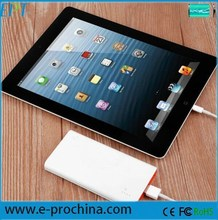 Mobile accessories goods from China super slim power bank for macbook pro /ipad mini