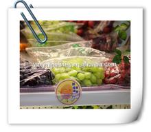 Plastic snack packaigng bag/seasoning spices packing/fresh grape package bag