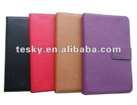 NEW Black Genuine Leather case for Amazon Kindle series kindle touch