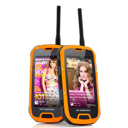 ip68 smartphone 4.3 inch 3050mah smartphone rfid reader shockproof smartphone