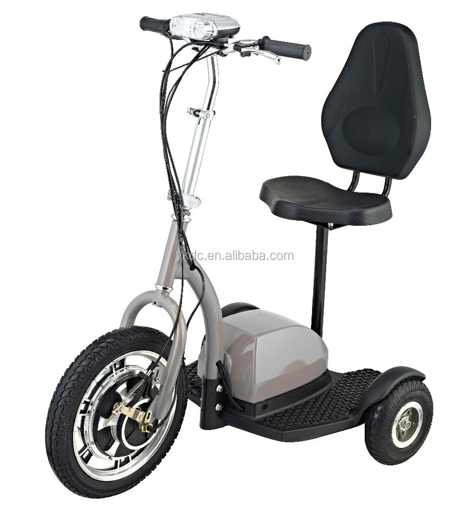 Adult Three Wheel Electric Scooter 36v 350w Buy 3 Wheel