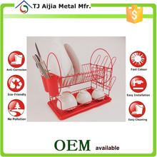 coating red metal Wire Racks , kitchen untensil racks
