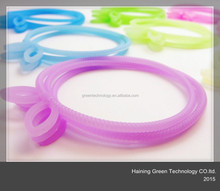 2015 high quality delicate silicone hair bands for girls