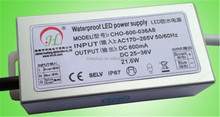 DC 12V 24V waterproof led power switching ac dc 12v regulator 5W 7W 9W 12W IP67 led driver power supply