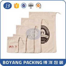practical cotton bag packing rice