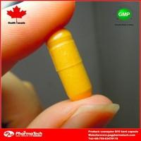 Oblong anti-aging Coenzyme Q10 hard capsule