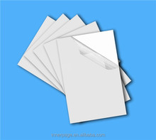 2014 new material self-adhesive PVC sheet for photo album