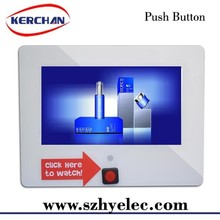 7 inch lcd monitor with button from Shenzhen factory