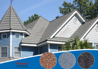 PT Roof- Rain carrying Stone Coated Roofing Tiles