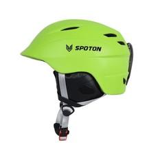 helmet with visor, ski helmet ears,CE 1077 ski helmet