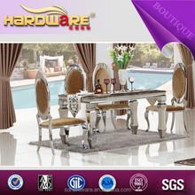 alibaba fornitore piano in marmo in acciaio inox sedia mobili per la casa