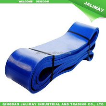 "Blue 2-1/2"" 2015 Hot Sale Latex Rubber Exercise Stretch Resistance Loop Bands For Yoga and Pilates"