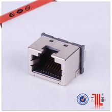 terminal connector rj45 to coax top entry rj45