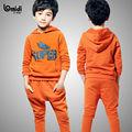 Conjuntos Los hoodies del algodón niños fabricante de ropa