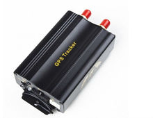 vehicle GPS tracking TK103A with GSM Alarm system SD Card Slot Anti-theft Real-time tracking