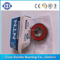 made in japan rubber seals ntn bearing 6007llu/c3