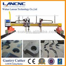 Durable usage famous brand Hot Sale CNC Mini Gantry Plasma Cutting Machine for metal by Lansun chinese manufacturer
