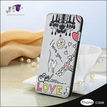 Wholesale Handmade Wallet Printing Leather Phone Cover Case