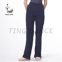 loose balck cotton Pants