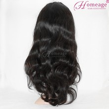 homeage gorgeous brazilian virgin hair lace front wig remy hair front lace wig