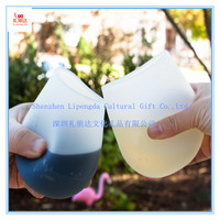 Food grade unbreakable portable shatterproof resuable acrylic wine glass, rubber acrylic wine cup, silicone acrylic wine glass