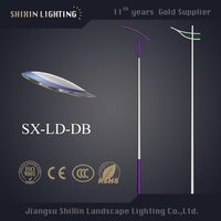 150w decorative street light pole