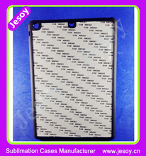 JESOY New Product Rubber Phone Case Sublimation 2D Case For Apple iPad 2 3 4 Cover Case