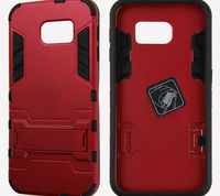 Shockproof Robot Combo Case Cover For iPhone 6 With Stand, Kickstand Case For Apple iPhone 6