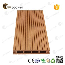 Coowin new design shape wood composite decking price