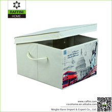 Custom Decorative Non-woven Durable Fabric Storage Containers