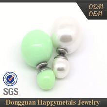 Hot Sell Promotional Factory Direct Price Customized Lasered Logo Earrings Fluorescent