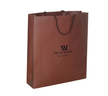 Cheap Kraft brown paper bags with handles