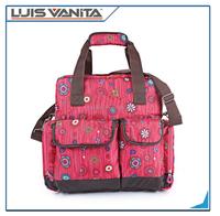 2015 Muti-function Nylon Mummy Bag Baby Diaper Bag