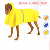 2015 Pet Cloths Yellow Large Dog Raincoat For Wholesale And OEM