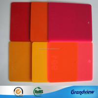 Bright Color Cast Acrylic Sheet