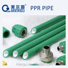 DIN8077/8078 large diameter size of ppr pipe, polyethylene tube