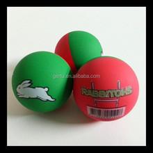 2015 gift balls promotional hollow rubber bouncing balls