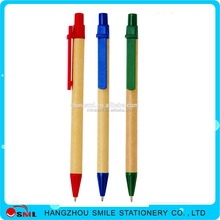 Wholesale School Supplies new style paper wooden ball pen