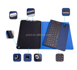 High quality wireless for ipad air 2 case with bluetooth keyboard