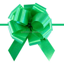 "5.5"" PP Glitter Pompom Pull Ribbon Bow Packings For USA Marketing suppled by China Manufacturer"