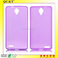 Accepted Paypal soft inner scrub mobile phone case for Alcatel OT6040