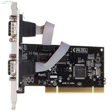 Moschip RS232 Dual Serial Port Expansion PCI Card