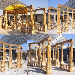 Outdoor Huge Gazebo Pavilion Gazebo Garden Structure SG15