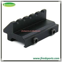 MTS6010--Hot Sell High Quality 45 Degree 5 Slots Offset Side Flashlight Laser Picatinny Weaver Rail Mount