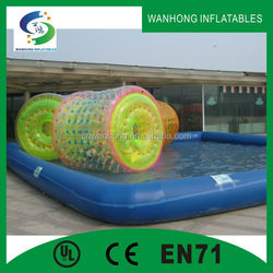 giant inflatable water park,water cascades for swimming pools