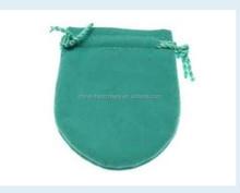 Chinese characteristic velvet drawstring gift bag